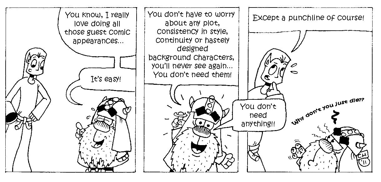 Guest Strip: Hythlodeus